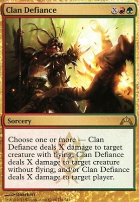 Gatecrash: Clan Defiance