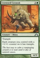 Gatecrash Foil: Crowned Ceratok