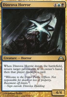 Gatecrash Foil: Dinrova Horror