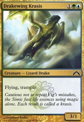 Gatecrash Foil: Drakewing Krasis