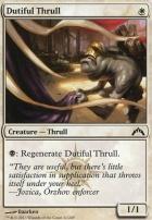 Gatecrash: Dutiful Thrull
