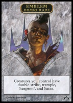 Gatecrash: Emblem (Domri Rade)