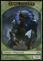 Gatecrash: Frog Lizard Token