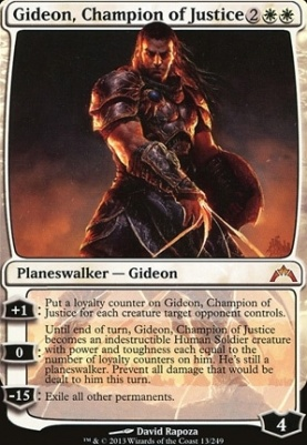 Gatecrash: Gideon, Champion of Justice