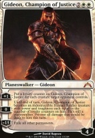 Gatecrash Foil: Gideon, Champion of Justice