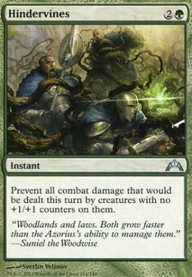Gatecrash Foil: Hindervines