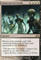 Gatecrash: Immortal Servitude