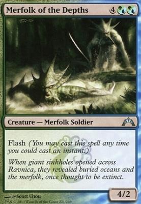 Gatecrash: Merfolk of the Depths