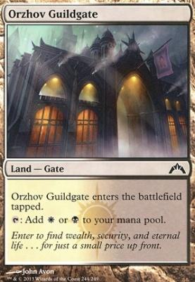 Gatecrash: Orzhov Guildgate