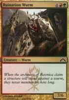 Gatecrash Foil: Ruination Wurm