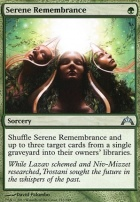 Gatecrash Foil: Serene Remembrance