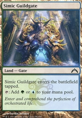 Gatecrash: Simic Guildgate