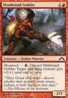 Gatecrash: Skinbrand Goblin