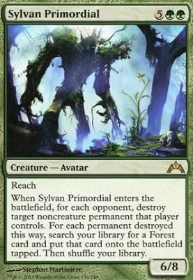 Gatecrash Foil: Sylvan Primordial