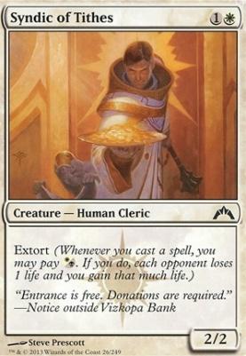 Gatecrash Foil: Syndic of Tithes
