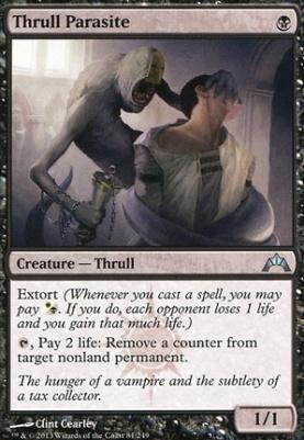 Gatecrash: Thrull Parasite