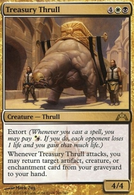 Gatecrash Foil: Treasury Thrull