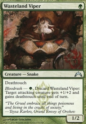 Gatecrash: Wasteland Viper