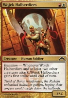 Gatecrash Foil: Wojek Halberdiers