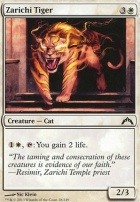 Gatecrash Foil: Zarichi Tiger