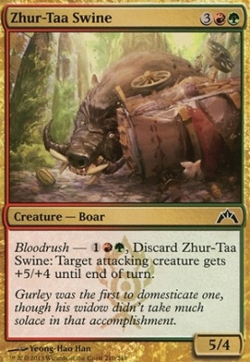 Gatecrash Foil: Zhur-Taa Swine