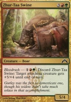 Gatecrash Foil: Zhur-Taa Swine