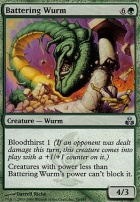 Guildpact Foil: Battering Wurm