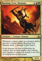 Guildpact: Burning-Tree Shaman