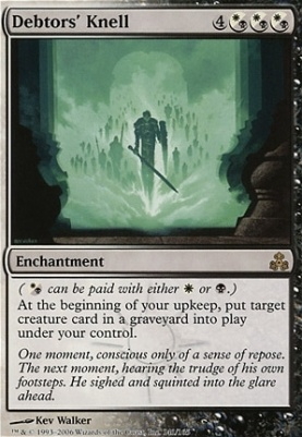Guildpact Foil: Debtors' Knell