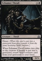 Guildpact Foil: Exhumer Thrull