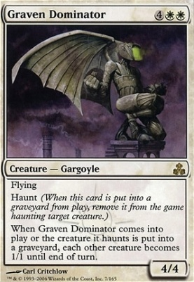 Guildpact Foil: Graven Dominator