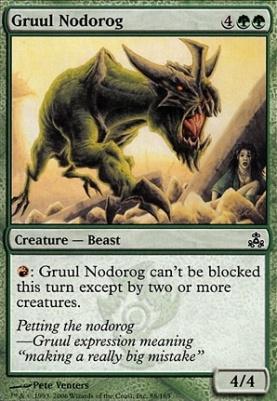 Guildpact Foil: Gruul Nodorog