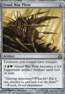Guildpact: Gruul War Plow