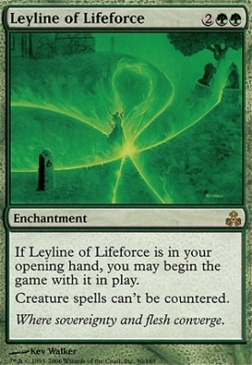 Guildpact Foil: Leyline of Lifeforce