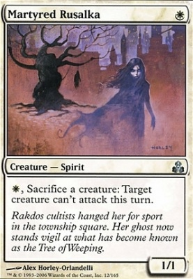 Guildpact Foil: Martyred Rusalka