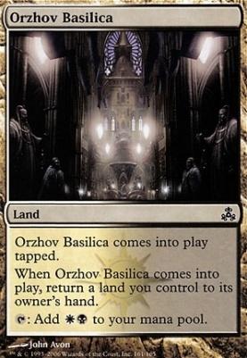 Guildpact Foil: Orzhov Basilica