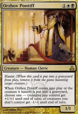 Orzhov Pontiff Guildpact Modern Card Kingdom This archetype doesn´t belong to the current standard go to current mtg standard. orzhov pontiff guildpact modern