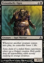 Guildpact Foil: Poisonbelly Ogre