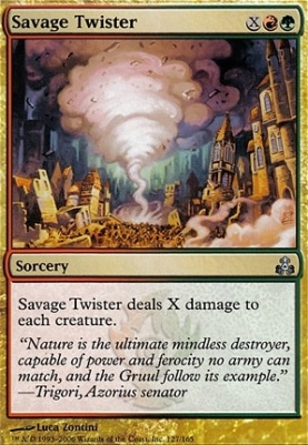 Guildpact Foil: Savage Twister