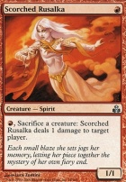 Guildpact Foil: Scorched Rusalka