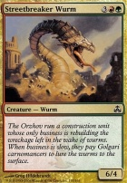 Guildpact Foil: Streetbreaker Wurm