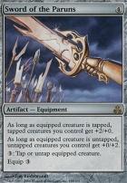Guildpact Foil: Sword of the Paruns