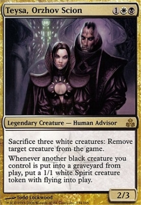 Teysa Orzhov Scion Guildpact Modern Card Kingdom View all 32 orzhov aristocrats decks. teysa orzhov scion guildpact