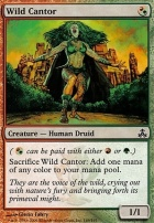 Guildpact Foil: Wild Cantor