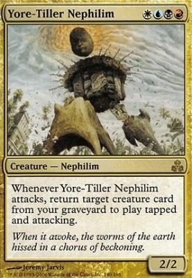 Guildpact Foil: Yore-Tiller Nephilim