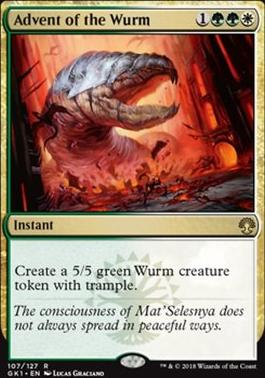 Guilds of Ravnica: Guild Kits: Advent of the Wurm