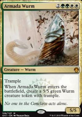 Guilds of Ravnica: Guild Kits: Armada Wurm