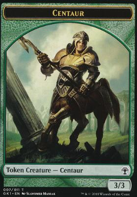 Guilds of Ravnica: Guild Kits: Centaur Token - Elemental Token