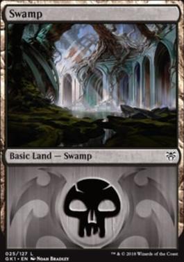 Guilds of Ravnica: Guild Kits: Swamp (025 A)