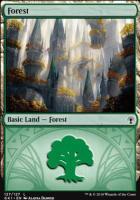 Guilds of Ravnica: Guild Kits: Forest (127 B)